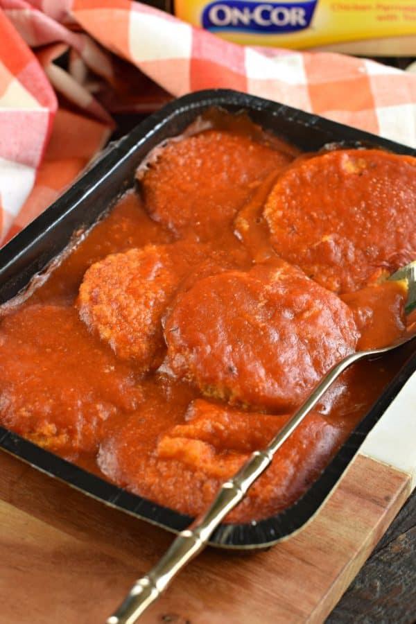 On-Cor Chicken Parmigiana