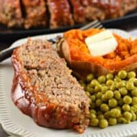 The Best Classic Meatloaf Recipe with BBQ Glaze