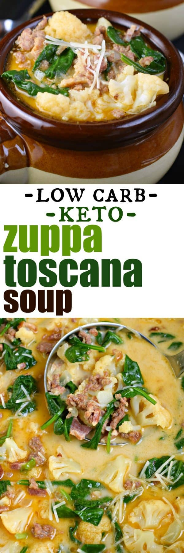 Easy Low Carb Keto Zuppa Toscana Soup Recipe