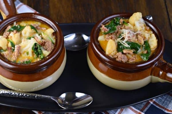 Zuppa Toscana Soup #lowcarb #keto