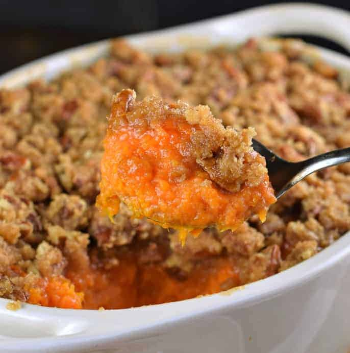 Sweet Potatoe Dishes: The Best Sweet Potato Casserole Recipe For Thanksgiving