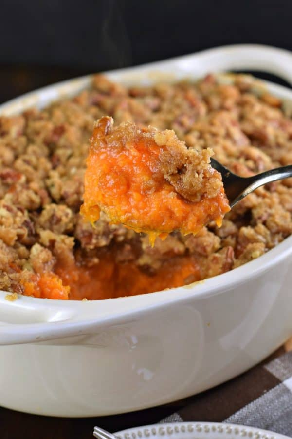 Ruth Chris Sweet Potato Casserole recipe #thanksgiving