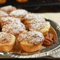 Pecan Tassies - Mini Pecan Pie Cookies