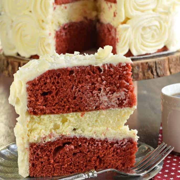 The Best Red Velvet Cheesecake Cake Recipe