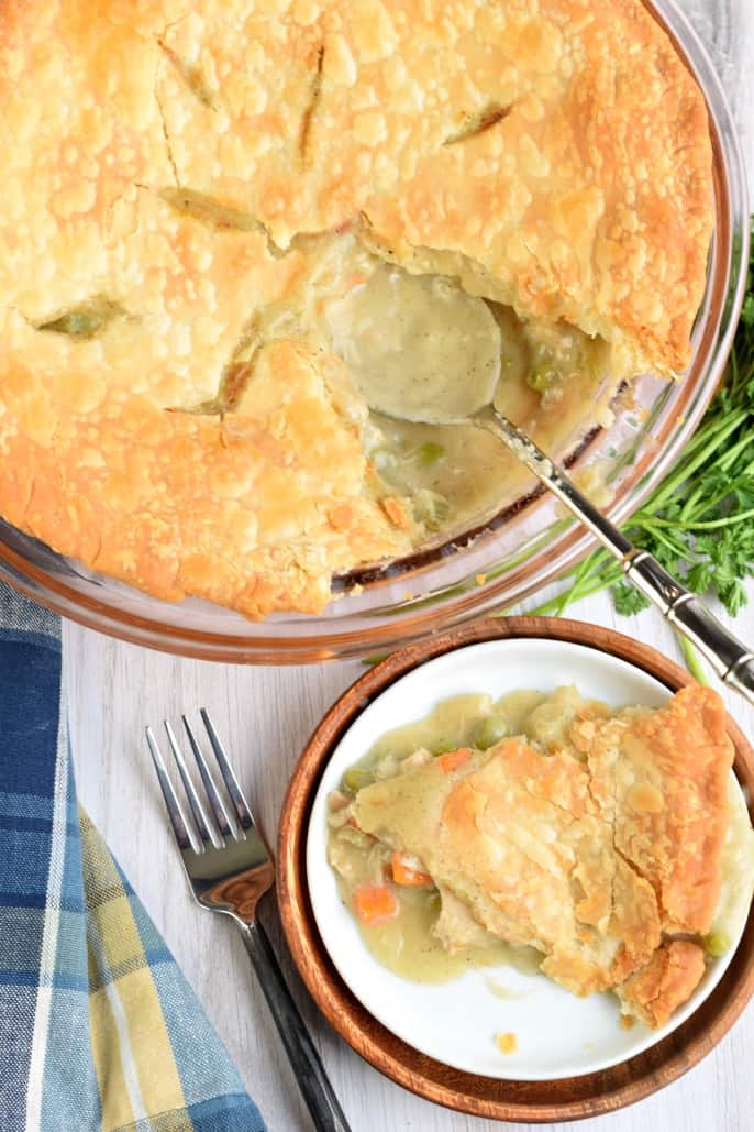 The Best Homemade Classic Chicken Pot Pie Recipe