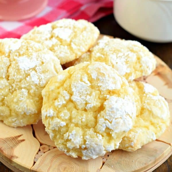 Thick, moist, and flavorful describe these delicious LemonGooey Butter Cookies. Made from scratch, a cake mix option is included below!