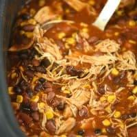 Slow Cooker Chicken Enchilada Chili Recipe