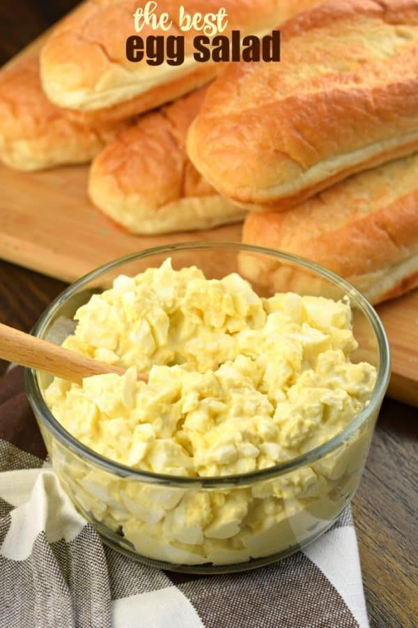 The Best Egg Salad recipe should be easy, creamy, and perfect for sandwiches! This Classic Egg Salad is my childhood favorite!