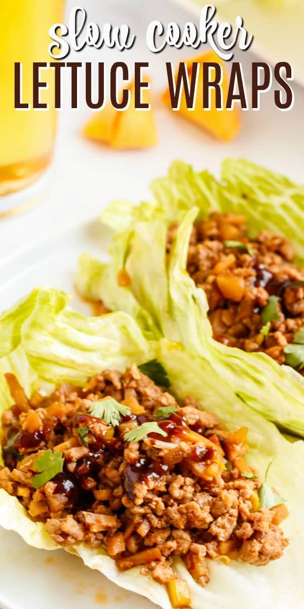 If you love PF Changs Lettuce Wraps, this simple copycat recipe made in the slow cooker is perfect!