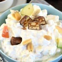 Easy Caramel Apple Snicker Salad Recipe
