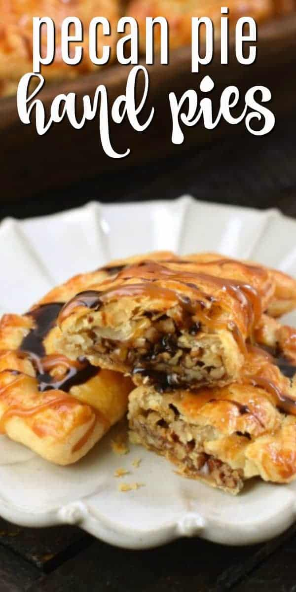 Mini Pecan Pies, or Pecan Hand Pies, are the perfect Thanksgiving dessert recipe. Freezer friendly and easy to make, your family will LOVE these treats.