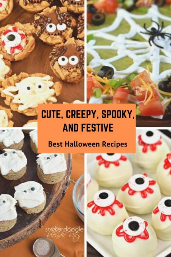 15 Easy Halloween Recipes Sweet And Savory