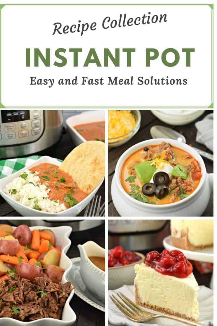 Over 60 Instant Pot Recipes gathered from sweets to savory. Desserts and Dinners. The BEST instant pot recipes you'll need to be a star in the kitchen.