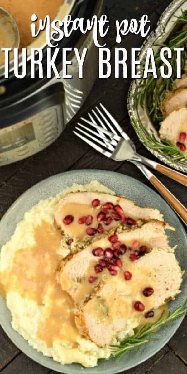Juicy, flavorful Turkey Breast made in the Instant Pot. Perfect for weeknights or holidays, this Thanksgiving feast is now a year-round dish ready in no time at all.