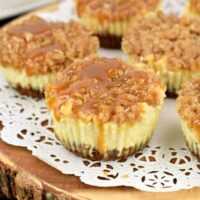 Caramel Apple Cheesecakes
