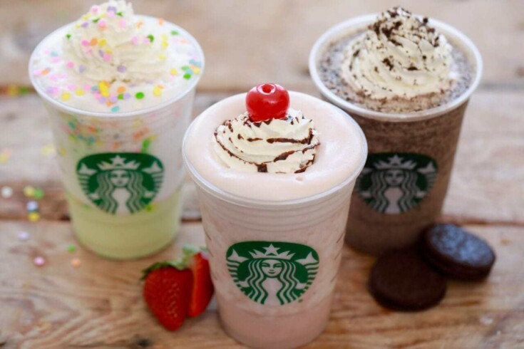 Starbucks Banana Split Frappuccino (Secret Menu)