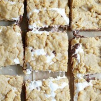 S'mores Cookie Bars - Something Swanky