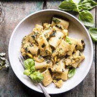 Simplest Zucchini Parmesan Pasta.