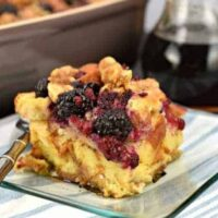 Berry French Toast Casserole