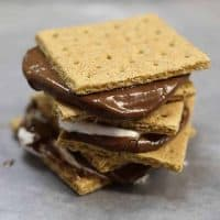 Indoor S'Mores - Easy to make and no heat needed!