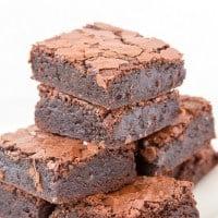 Fudgy Keto Zucchini Brownies (Paleo, Vegan)