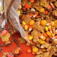 Pumpkin Spice Chex Mix- Salty and sweet Chex Mix treat!