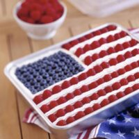 Celebrate Patriotic Holidays With an American Flag Cake