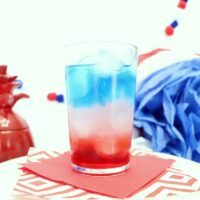 Red White and Blue Layered Cocktail - Creative Ramblings