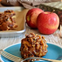 Apple Bacon Pecan Sticky Biscuits