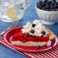 Berry Patriotic Pie