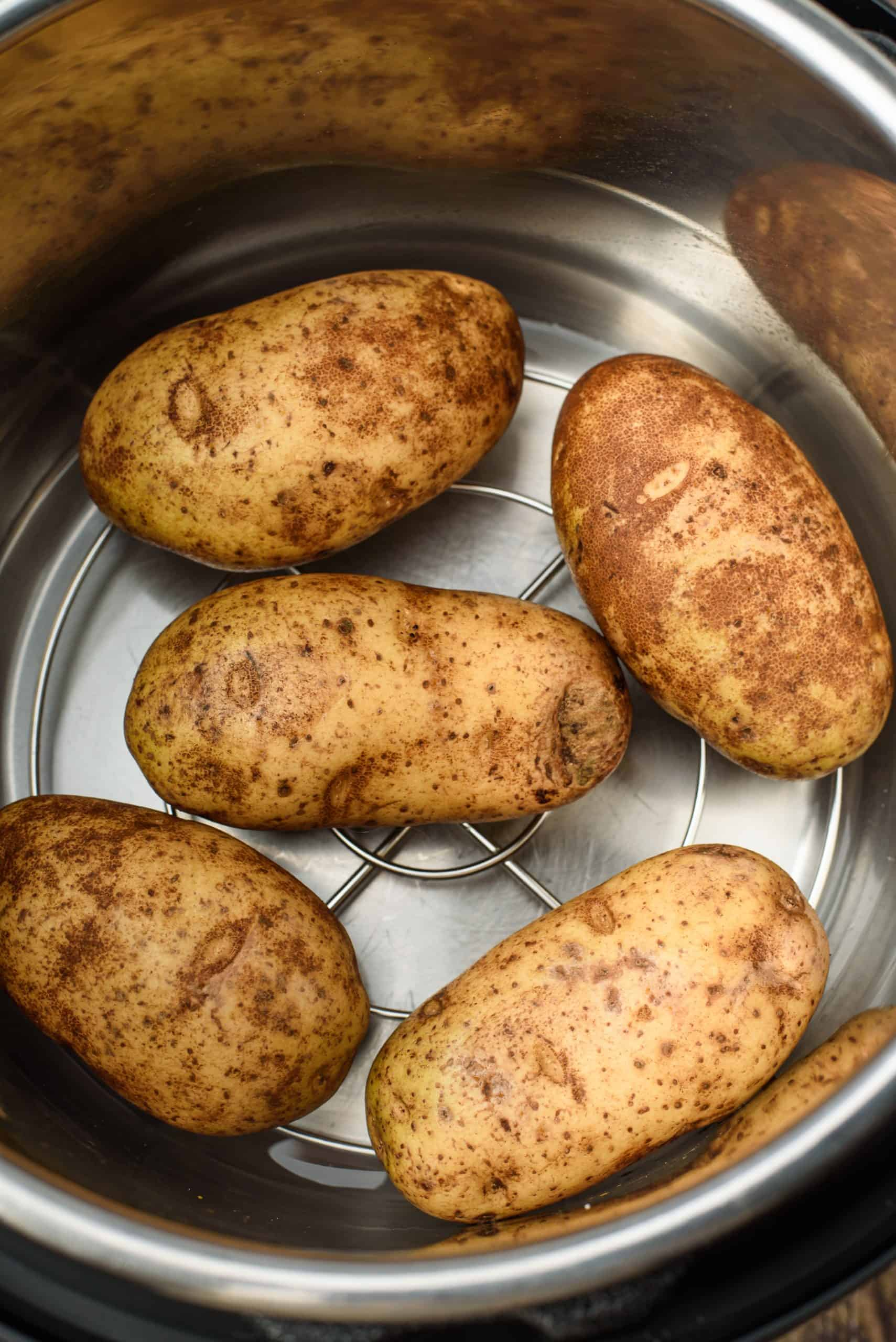 Russet Potatoes in the Instant Pot for cooking