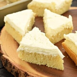 Lemon Cake Bars