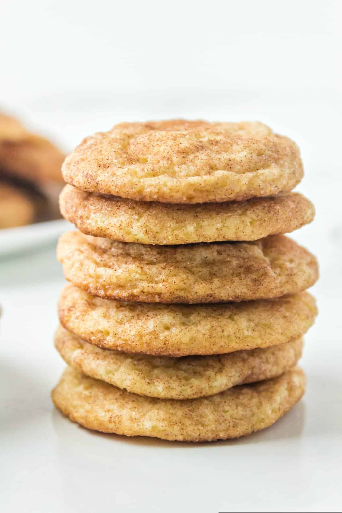 Snickerdoodle Cookies Recipe Shugary Sweets