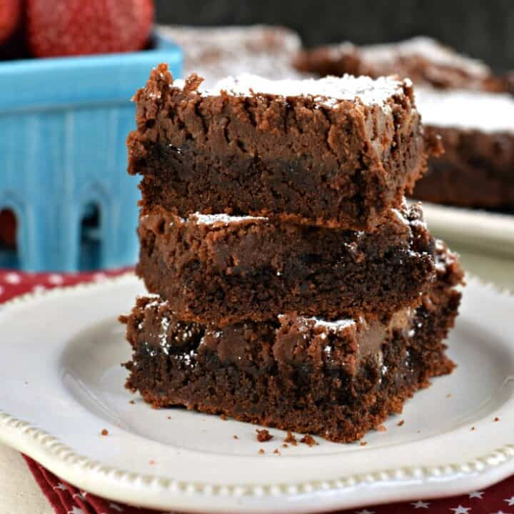 Gooey Chocolate Brownie Bars