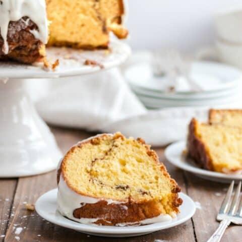 Streusel Bundt Coffee Cake