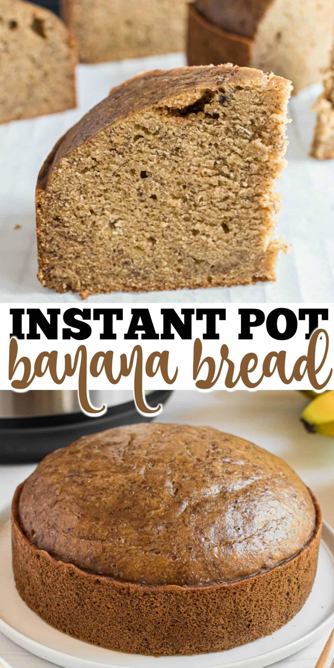 Instant Pot Banana Bread Recipe Shugary Sweets